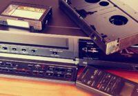 Staré VHS kazety