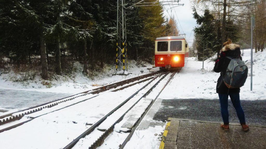 Zubačka - Ozubnicová železnica