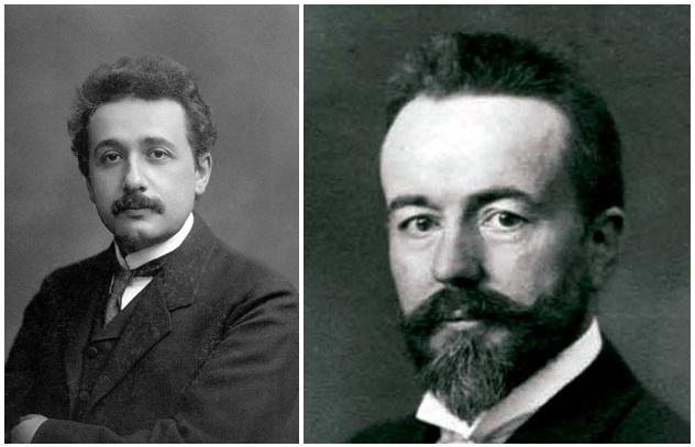 Einstein a Stodola