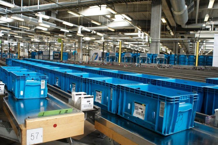 Plastové vratné kontajnery